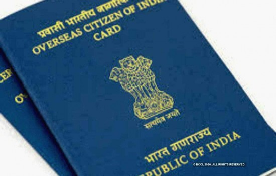 OCI card holders no longer required to carry old passports